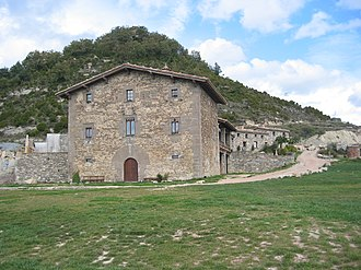Matthew Parris - L'Avenc, Parris's planned home in Catalonia