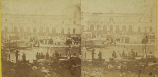 L'arrivo di Vittorio Emanuele II a Venezia