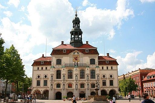 Lüneburg - Am Markt - Rathaus 01 ies