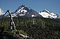 LAVA FIELDS AND MOUNTAINS ABOVE OPAL POOL-WILLAMETTE (23306447094).jpg