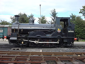 2-4-0 - Beattie's 0298 Class Well tank locomotive