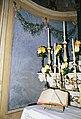 La Cappelletta, 1983, dopo i restauri, l'altare maggiore, un particolare del leggio.jpg