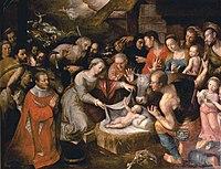 La Nativité by Jérôme Francken (1585).jpg