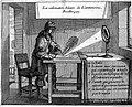 La calcination Solaire de L'antimoine, Le Fevre. 1660 Wellcome L0009650.jpg