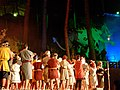 La llegenda de sant Jordi, el drac i la princesa 2012.jpg