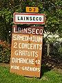 Lainsecq-FR-89--panneau d'agglomération-juin 2016.jpg