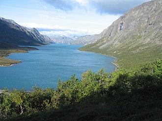 Gjende - Image: Lake gjende