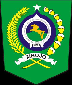 Bima Regency - Image: Lambang Kabupaten Bima