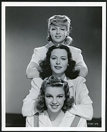 Lana Turner, Hedy Lamarr, and Judy Garland.jpg