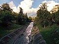 Lana river in Tirana.jpg
