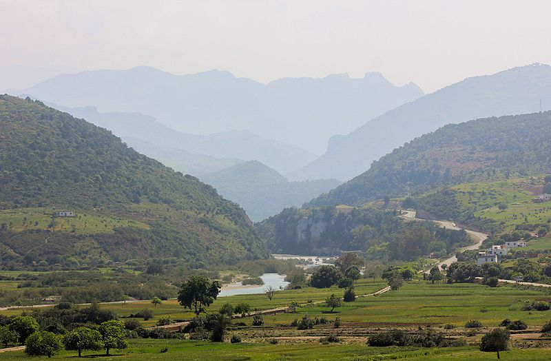 File:Landscape Chrouda, between Chefchaouen and Oued Laou.jpg
