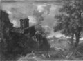 Landscape with a Circular Temple - Nationalmuseum - 17817.tif