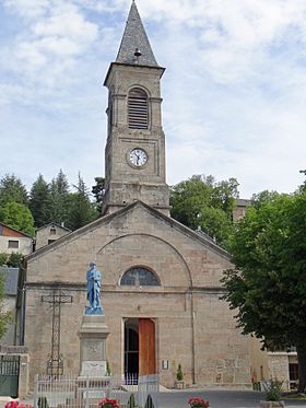 Lanuéjols - Église Saint-Laurent -1.JPG