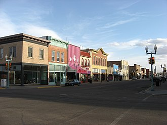 Laramie, Wyoming - Downtown Laramie Historic District