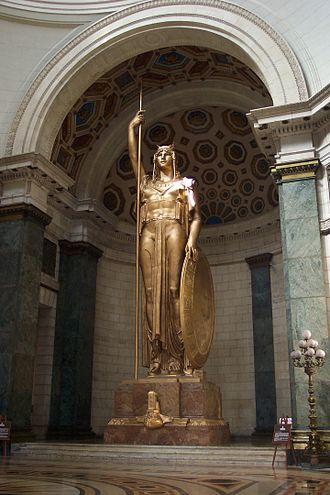 El Capitolio - La Estatua de la República, the world's third largest statue under cover