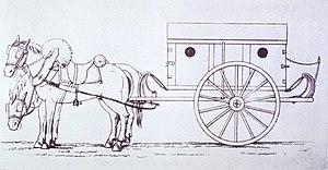 Dominique Jean Larrey - Ambulance volante du modèle Larrey.