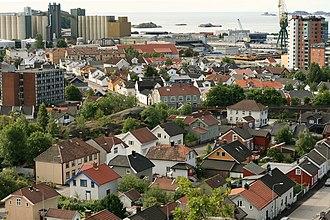 Larvik - Torstrand in Larvik.
