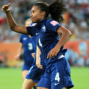 Laura Georges - Georges playing for France in 2011