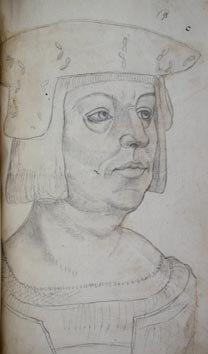 Le Boucq d'après Gossart - Philippe de Bourgogne (évêque d'Utrecht)