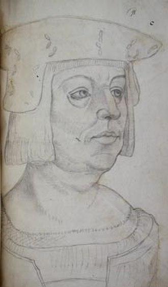 Philip of Burgundy (bishop) - Philip of Burgundy by Jacques Le Boucq, after an original by Jan Gossaert.