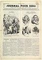 Le Journal Pour Rire, Journal d'Iimages, Journal Comique, Critique, Satirique et Moqueur, August 23, 1850 MET DP824607.jpg