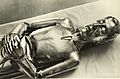 Lebensgrosses Reliquiar für die Gebeine des Heiligen Bruder Klaus in der Pfarrkirche von Sachseln, OW, Burch-Korrodi 1934.jpg