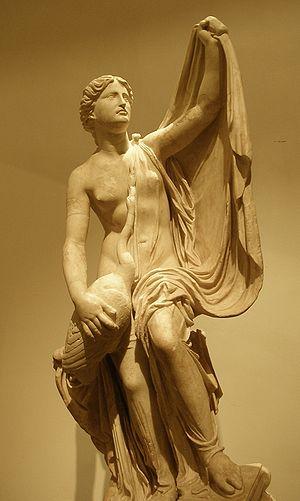 Leda with the Swan, a restored Roman copy, per...