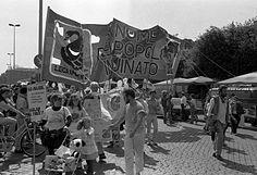 Manifestazione antinucleare Roma 10 maggio 1986