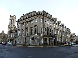 Constitution Street - Image: Leith Police Station, Constitution Street (former Town Hall), Edinburgh