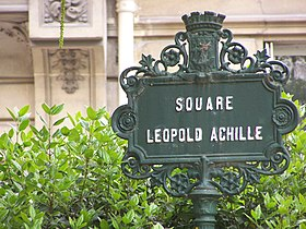 Image illustrative de l'article Square Léopold-Achille