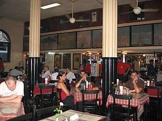 Leopold Cafe - Interior, September 2007