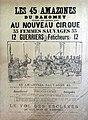 Les 45 Amazones du Dahomey (affiche 1899).jpg
