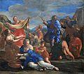 Les Israélites recueillant la manne dans le désert - Giovanni Francesco Romanelli - Q18573347.jpg