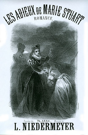 "Marie Stuart (opera) - ""Les adieux de Marie Stuart"", an aria from Act 1"