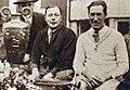 Les vainqueurs de la Coupe Biennale Rudge-Whitworth 1926 des 24 heures du Mans, Marcel Mongin (G.) Gérard de Courcelles (D.).jpg