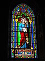 Lesperon (Landes) église, vitrail 04.JPG