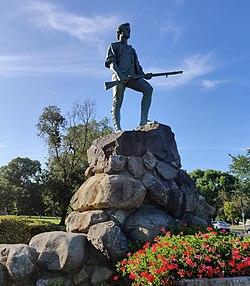 Estatua de Minuteman en Lexington