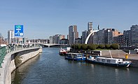 Liège, Port des Yachts met Pont Kennedy foto4 2017-03-26 14.48.jpg