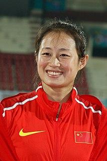 Li Lingwei (javelin thrower) Olympic javelin thrower