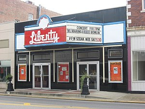 Murphysboro, Illinois - Liberty Theater in Murphysboro
