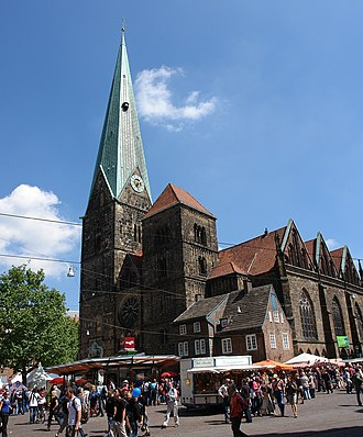 Church of Our Lady (Bremen) - Image: Liebfrauenkirche 02