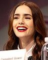 Lily Collins WonderCon 2, 2013.jpg
