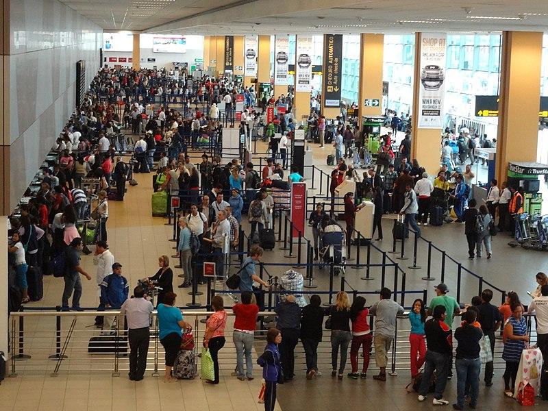 Como se ir do aeroporto ao centro de Lima