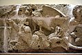 Limestone friezes of showing an eagle on a mermaid or a goddess, from Hatra, Iraq. 2nd-3rd century CE. Iraq Museum.jpg