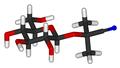 Linamarin 3D sticks.png