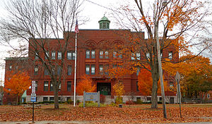 Deering Center, Maine - Lincoln Middle School.