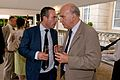 Lionel Barber, Editor, FT and Rt Hon Dr Vince Cable, Business Secretary (5879954131).jpg