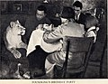 Lioness Kinuli with Vera Chaplina and her family. Spring 1936.jpg