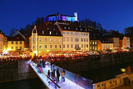 Bridges across the Ljubljanica River are popular tourist attractions