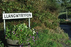 Llangwyryfon road sign.JPG